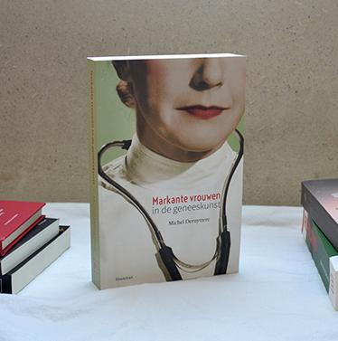 Cover 'Markante vrouwen in de geneeskunst'