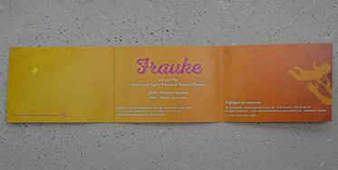 Geboortekaartje Frauke