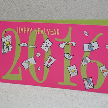 Nieuwjaarskaart Starterslabo