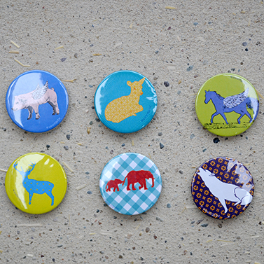 Badges en magneten