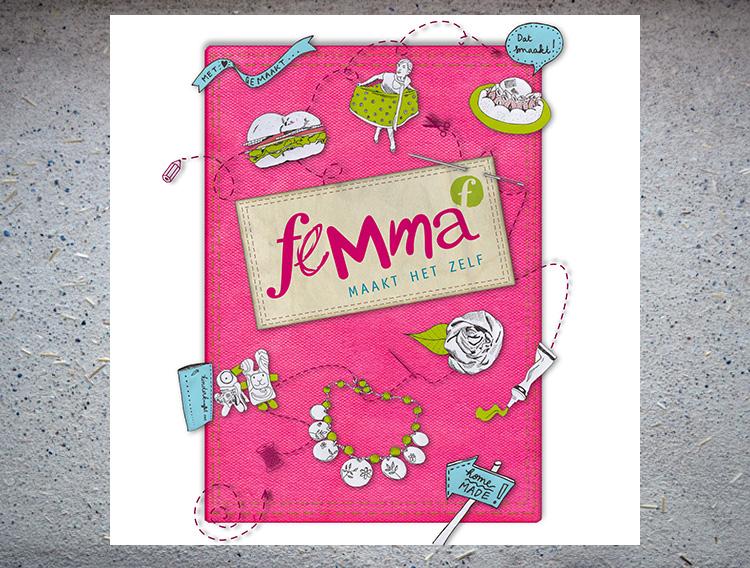 Campagnebeeld Femma 'Maakt het zelf'