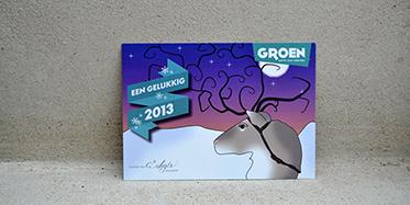 Nieuwjaarskaart Groen Haacht